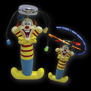 579-061 LED Wirbler Comic Clown